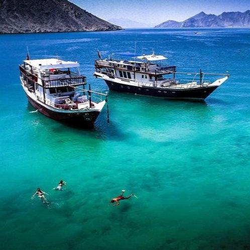 10 hrs | PRICE PER PERSON | Oman-Mussandam