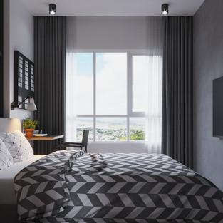 new vision lofts - bedroom