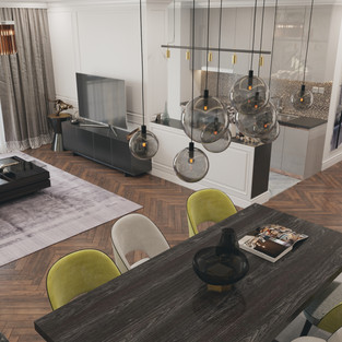 new vision lofts - dining