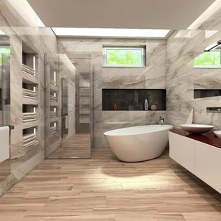 new vision lofts -bathroom