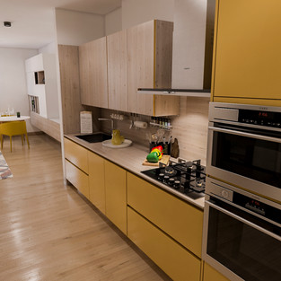 new vision lofts - kitchen