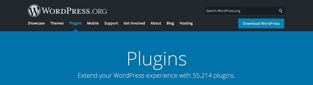 plugin per realizzazione siti web