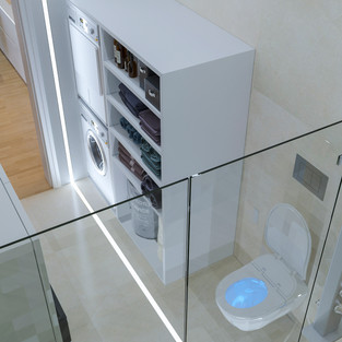 new vision lofts - bathroom