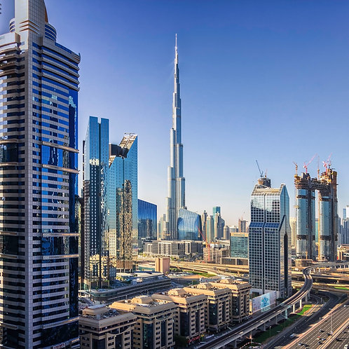 10 hrs| PRICE FOR TWO | Private Dubai City Tour + Burj Khalifa tickets