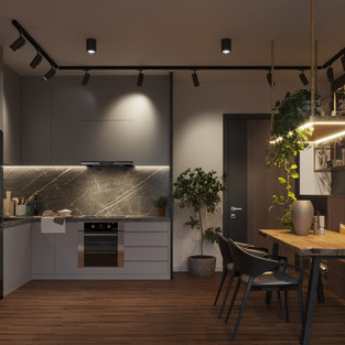 new vision lofts - kitchen & dining