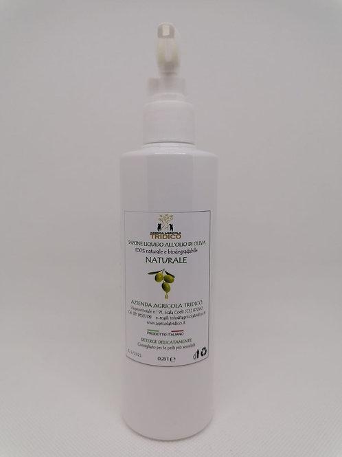 Sapone liquido all'olio di oliva