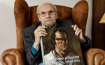 Fotografia do artista plástico António Joaquim