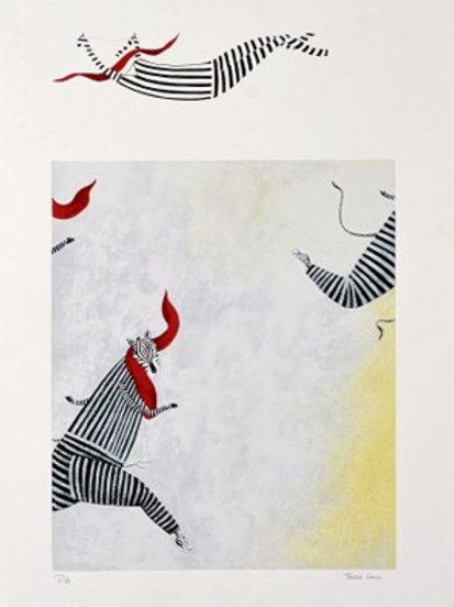 Serigrafia de Teresa Lima