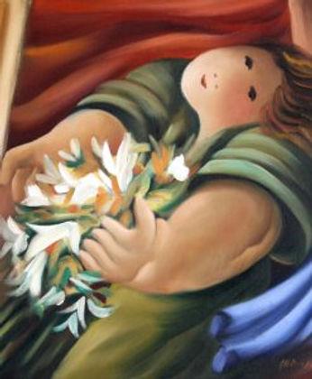 Menina-com-Flores-247x300_albino Moura.j