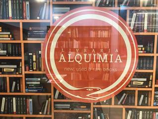 Agenda | ALQUIMIA: Uma nova livraria/alfarrabista na Avenida de Roma.