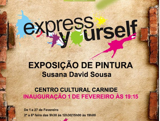 """Express Yourself"" - Susana Sousa"