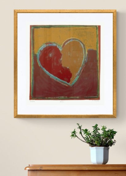 Amor, da artista Regina Chulam