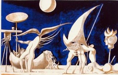 Cruzeiro Seixas, surrealista português