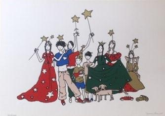 Serigrafia de Joana Rosa