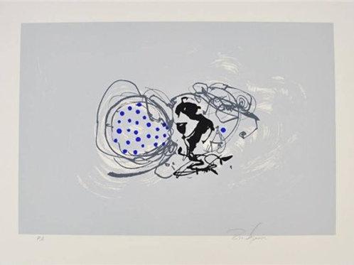 Serigrafia de Rico Sequeira
