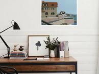 Decorate Your Home | A Serigrafia de Lupi Manso torna o seu escritório alvo de inveja