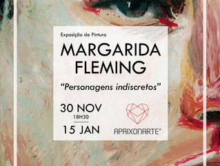 """Personagens Indiscretos"" - Margarida Fleming"