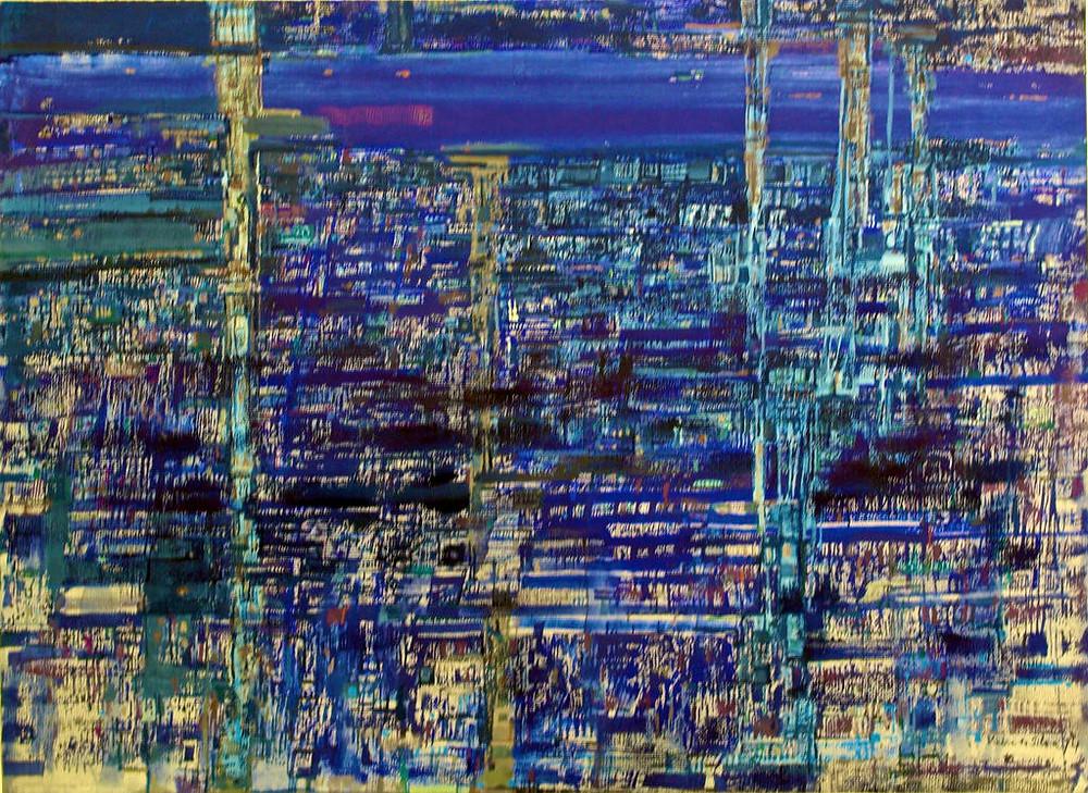 Estuaire Bleu (1974) – Maria Helena Vieira da Silva