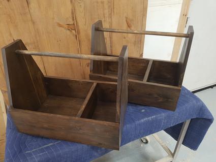 Dark Walnut Grooming Box