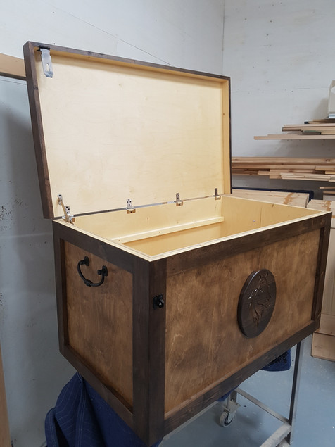 Detailed Tack Trunk