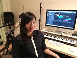 Veronica in her Studio