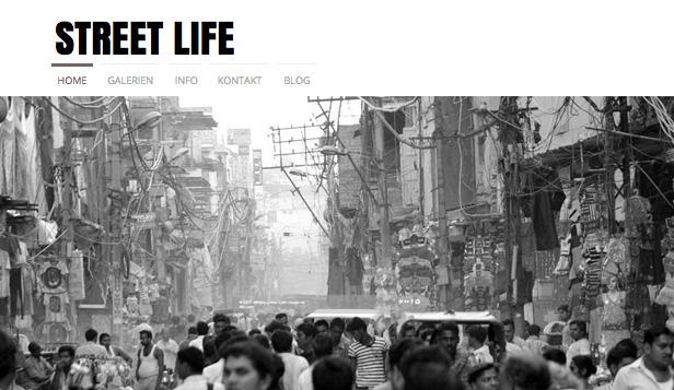 Html Homepage Vorlagen Für Portfolio Lebenslauf Wix
