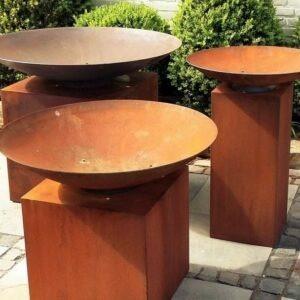 ADEZZ-Burni-fire-bowl-cortensteel-pedest
