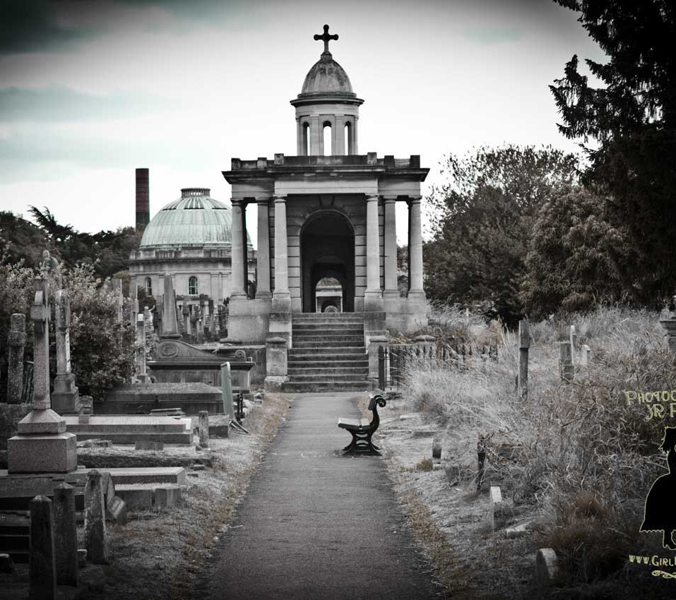 Brompton Cemetery,  By JR Pepper