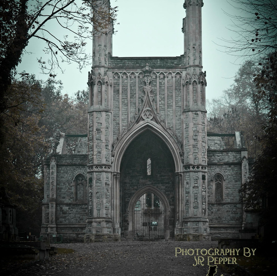 Nunshead Cemetery, By JR Pepper