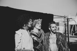 Liniker, Johnny Hooker e Almério