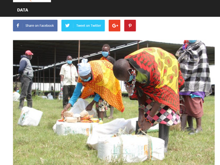 I&M BANK DONATES KSHS 1 MILLION TO SUPPORT THE MAA BEADWORK WOMEN IN MAASAI MARA