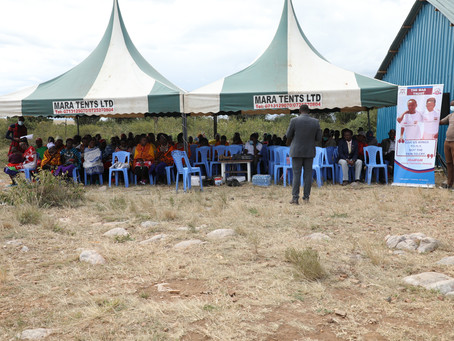 The Maa Trust Holds a Community Dialogue on Female Genital Mutilation (FGM)