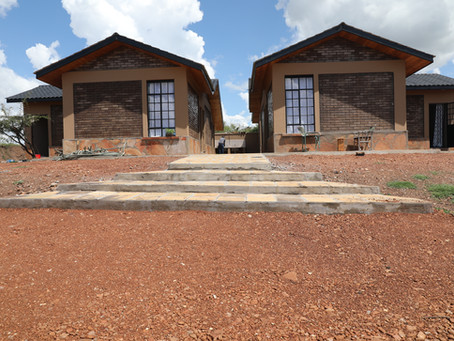 The Maa Trust Staff Moves to New Houses