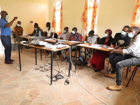 Dig Deep Africa Trains The Maa Trust's Team in Community-Led Total Sanitation (CLTS)