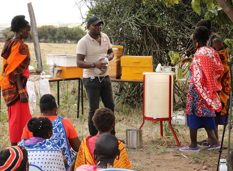 The Maa Trust Trains Maasai Women in Beekeeping