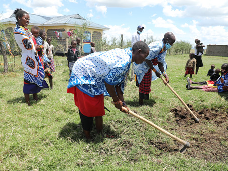 The Maa Trust Launches Healthy Nutrition & Kitchen Gardens Project in Maasai Mara