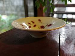 巌陶房 赤葉反り鉢
