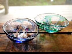 沖口こずゑ 風歌楕円ミニ鉢