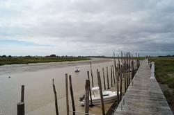 Le Lay dans la baie de l'Aiguillon