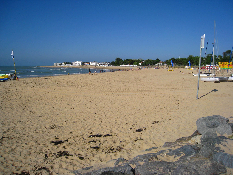 Plage centrale de la Tranche-sur-Mer
