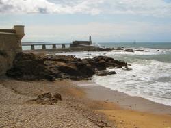 La jetée et le phare de La Chaume