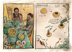 Home made Panipuri