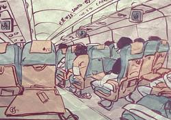 on flight to vocation