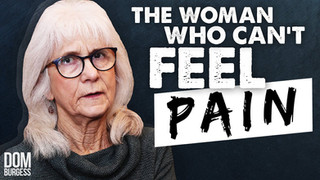 The Woman Who Can't Feel Pain