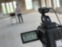 Filming science video