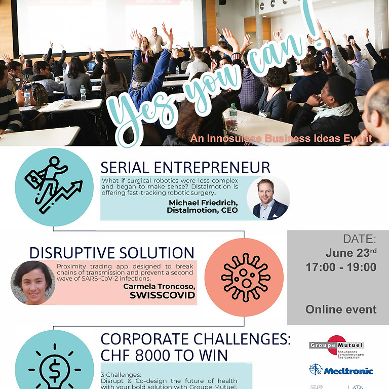 Yes You Can! Disrupt and co-design – The Future of Health