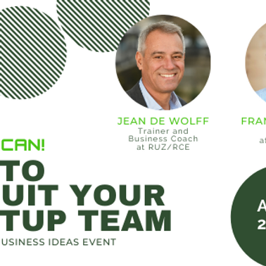 YES YOU CAN! - Recruit Your Startup Team  at STIL Conference  (1)