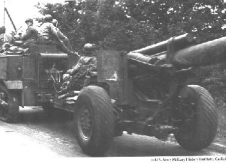 """The 666th Field Artillery Battalion and the """"Battle of the Bulge"""""""