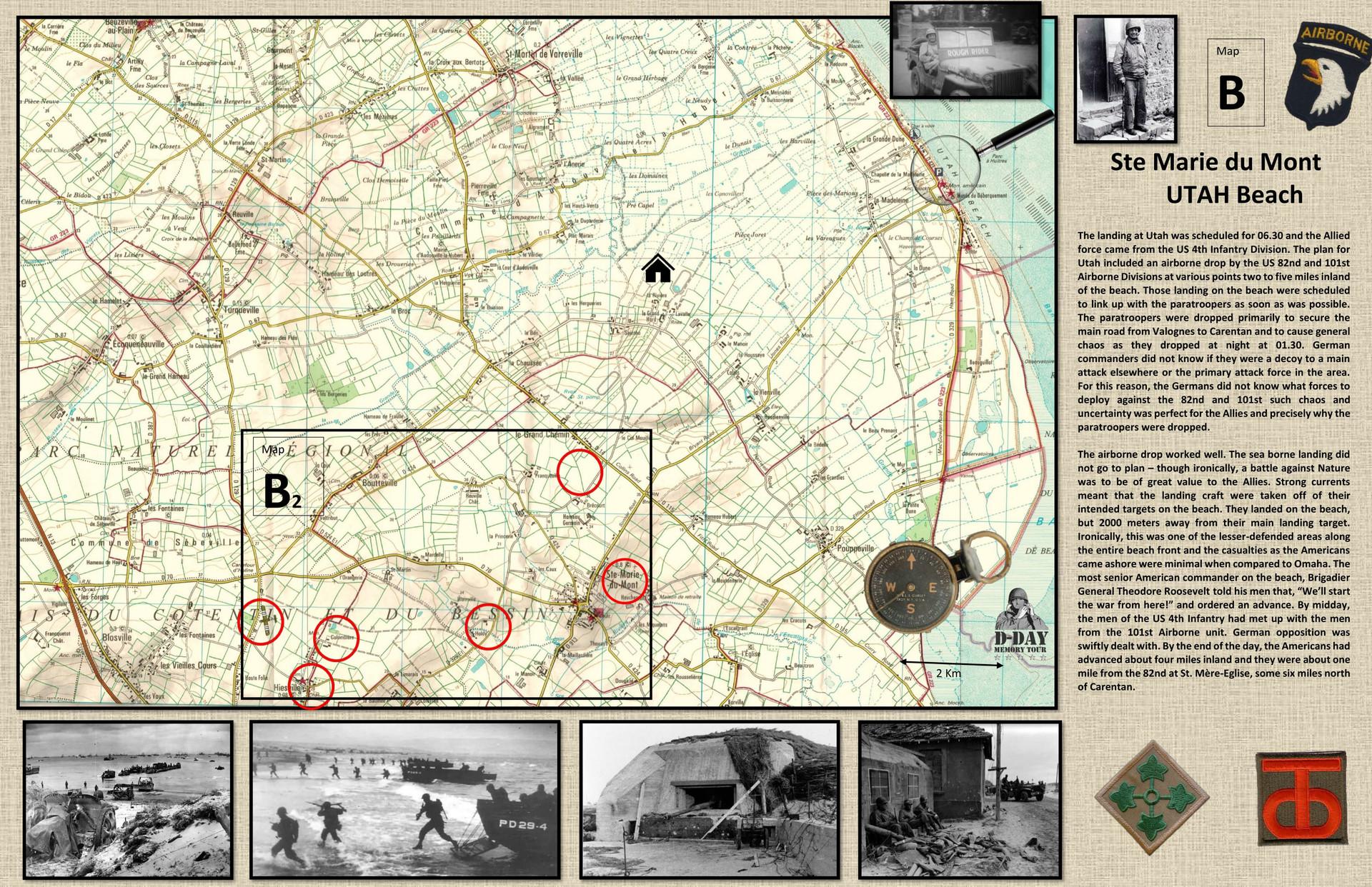 Map B sainte marie du mont Utha-1.jpg
