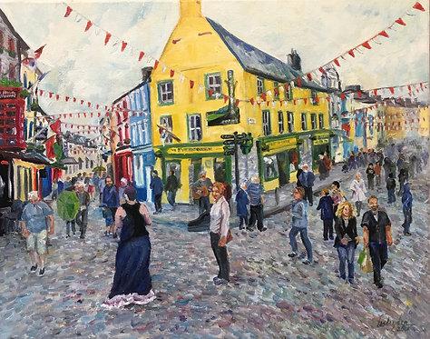 Galway in Summer - PRINT